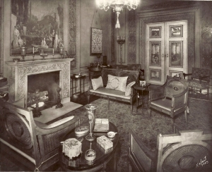 The Flagler period alcove, Museum of the City of New York, 1949