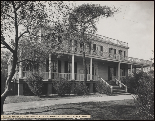 Gracie Mansion, first home of the Museum of the City of New York