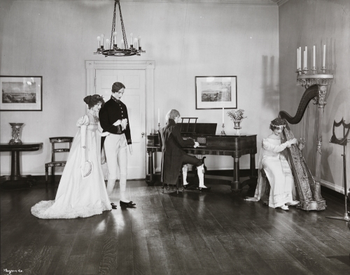 [Gracie Mansion, Interior, Showing Old New York Costumes.]