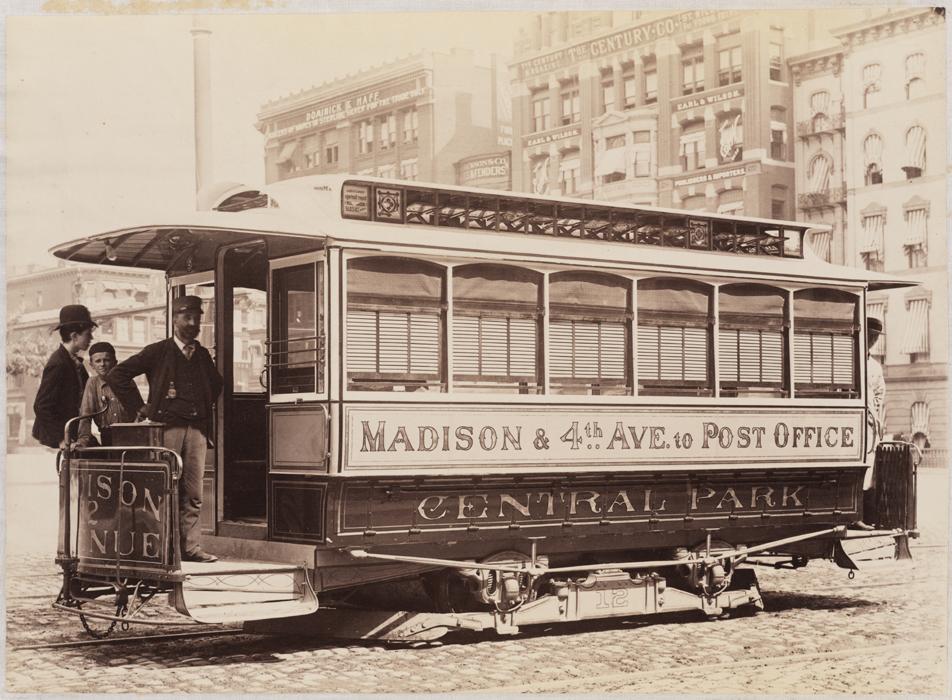 John Stephenson Company Streetcars Mcny Blog New York