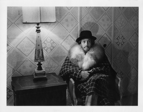 [Gregory Hines in dressing room as in Scrooge from Comin' Uptown.] 1979. Museum of the City of New York. 83.60.10
