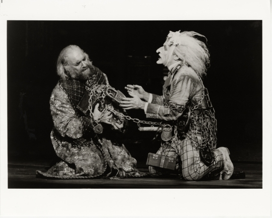 Joan Marcus. [ as Scrooge and as Jacob Marley in A Christmas Carol.] 1994. Museum of the City of New York. F2013.41.1679