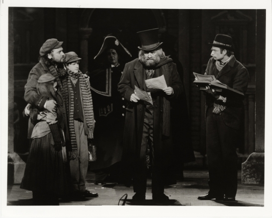 Joan Marcus. [Walter Charles as Scrooge in A Christmas Carol.] 1994. Museum of the City of New York. F2013.41.1681