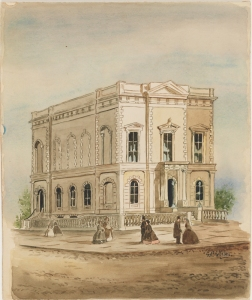 New York Historical Society, ca. 1845, George P. Hall and Son,  Museum of the City of New York, 29.100.1748