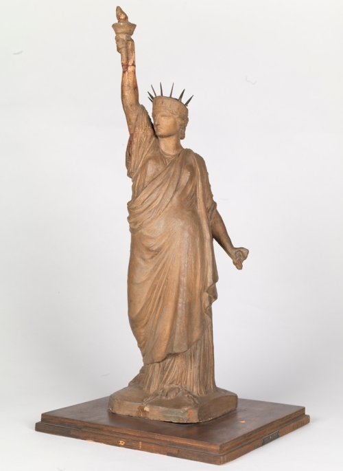 Frédéric Auguste Bartholdi (1834-1904). Statue of Liberty, ca. 1870. Museum of the City of New York. 33.386AB