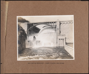Photographer unknown. New Croton Reservoir - Waste Channel and Bridge Croton System. ca. 1905. Museum of the City of New York. 42.172.95