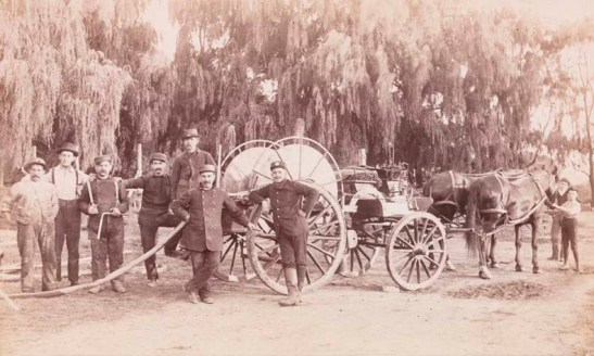 Paul Oscanyan. Carmansville Fire Department. ca. 1891. Museum of the City of New York. X2010.11.9135.