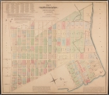 John Bute Holmes. Map of the East and West De Lancey Farms.  Museum of the City of New York. 29.100.2902.
