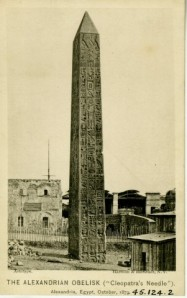 Postcard invitation to the opening celebration for the obelisk, 1881, MCNY 45.124.2, gift of Beverly R. Robinson.