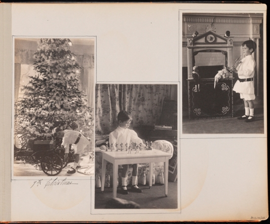 Unknown photographer. 7th Christmas [The first six years of William B. Leeds.] 1909. Museum of the City of New York. 89.3.1.45.
