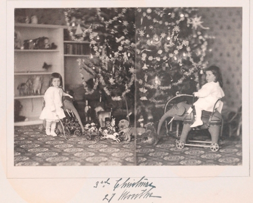 Unknown photographer. 3rd Christmas - 27 Months [The first six years of William B. Leeds.] 1904. Museum of the City of New York. 89.3.1.21.