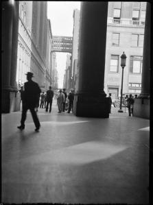 Wurts Bros. (New York, N.Y.). [Columns of Pennsylvania Station.] ca. 1940. Museum of the City of New York. X2010.7.1.16802
