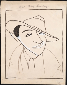 William Auerbach-Levy. Jed Harris. ca. 1925. Museum of the City of New York. 64.100.715