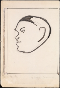 William Auerbach-Levy. H. L. Mencken. ca. 1929. Museum of the City of New York. 64.100.836