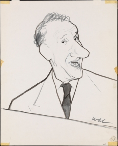 William Auerbach-Levy. Jimmy Durante. 1945-1964. Museum of the City of New York. 64.100.659