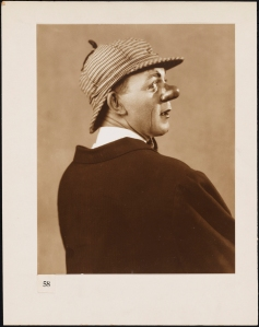 "Vandamm. Hal Skelly as Skid in ""Burlesque"". 1927. Museum of the City of New York. 37.414.4"