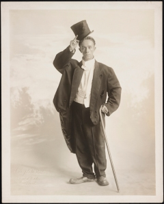"Alfred S. Campbell Art Co. William Dooley of the Funny Dooleys in ""The Century Midnight Revue"". 1920. Museum of the City of New York. 48.210.793"