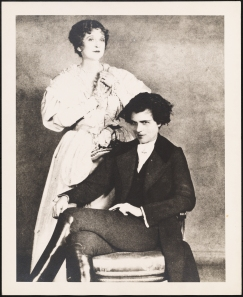 Michael Strange as L'Aiglon and Effie Shannon as Marie Louise, 1927. From the Theater Collection. Museum of the City of New York. 50.178.678.