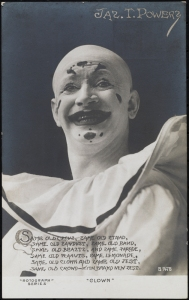 "Rotograph Co. (New York, N.Y.). Jas. T. Powers ""Clown"". 1904-1911. Museum of the City of New York. 57.46.24"