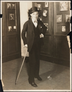 "White Studio. Gregory Kelly as Peter Jones in ""The Butter and Egg Man"". 1925. Museum of the City of New York. 68.80.113"