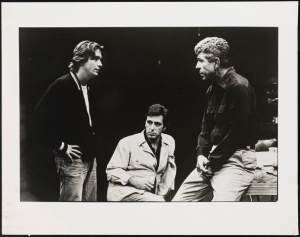 "Stephanie Saia. James Hayden as Bobby, Al Pacino as Walter Cole, and J. J. Johnston as Donny Dubrow in ""American Buffalo"". 1983. Museum of the City of New York. 95.139.106"