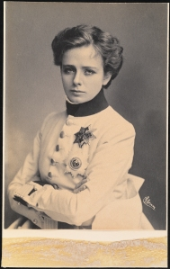 Maude Adams as L'Aiglon, 1900. From the Theater Collection. The Museum of the City of New York. F2013.41.127.