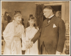 "White Studio (New York, N.Y.). Laurette Taylor as Mrs. Grey, Peg Entwistle as Amy Grey, and Charles Dalton as Colonel Grey in ""Alice Sit-by-the-Fire"". 1932. Museum of the City of New York. F2013.41.94"
