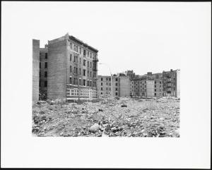 Near Bathgate Avenue and East 173rd Street, Mel Rosenthal, 1976-1982. Museum of the City of New York 2013.12.40