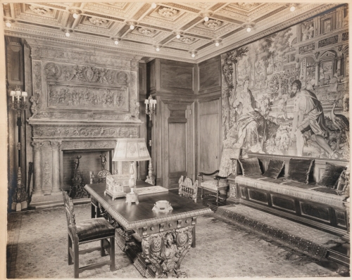Unknown photographer. Mr. F. W. Woolworth's private office, Woolworth Building, N.Y.C.. ca. 1915-1930. Museum of the City of New York. X2013.139.10A