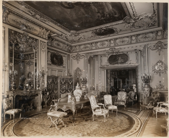 Unknown photographer. John Jacob Astor Residence, #840 Fifth Avenue. Drawing room. ca. 1915-1930. museum of the City of New York. X2013.139.90B.