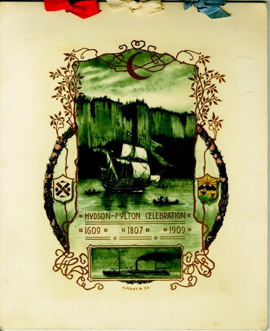 Program for the Hudson Fulton Celebration, 1909, in the Collection on Civic Events.  Museum of the City of New York, 34.505.22.