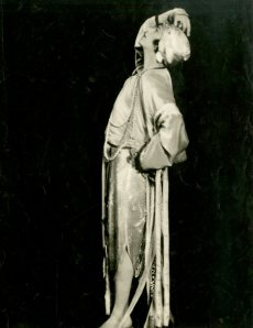 Teddy Gerard in the Midnight Frolic, 1917. From the Theater Collection. Museum of the City of New York, 62.100.211.