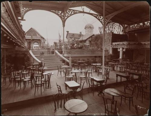 Byron Company (New York, N.Y.). [Roof Garden, Paradise atop Hammerstein's Victoria.] ca. 1904.