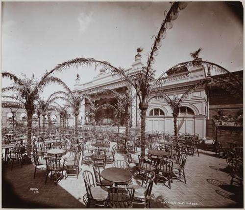 Byron Company (New York, N.Y.), American Roof Garden. 1898. Museum of the City of New York, 93.1.1.17841.