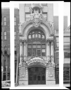 214 West 42nd Street. New Amsterdam Theatre, ca. 1900. Museum of the City of New York, X2010.7.1.195.
