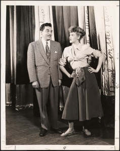 "Vandamm. Hank Ladd and Elaine Stritch in ""Angel in the Wings"". 1947. Museum of the City of New York. 68.80.4222"