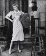 "Zinn Arthur. Elaine Stritch as Grace Hoylard in ""Bus Stop"". 1955-1956. Museum of the City of New York. 68.80.4605"
