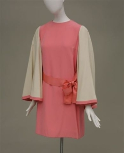 Marc Bohan (b. 1926) for Christian Dior.  Mini dress, 1968.  Museum of the City of New  York, 71.79.3.