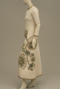 Marc Bohan (b. 1926) for Christian Dior.  Evening dress, 1968.  Museum of the City of New York, 79.71.