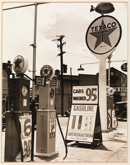Berenice Abbott (1898-1991). Gasoline Station, 1936. Museum of the City of New York, 89.2.2.30