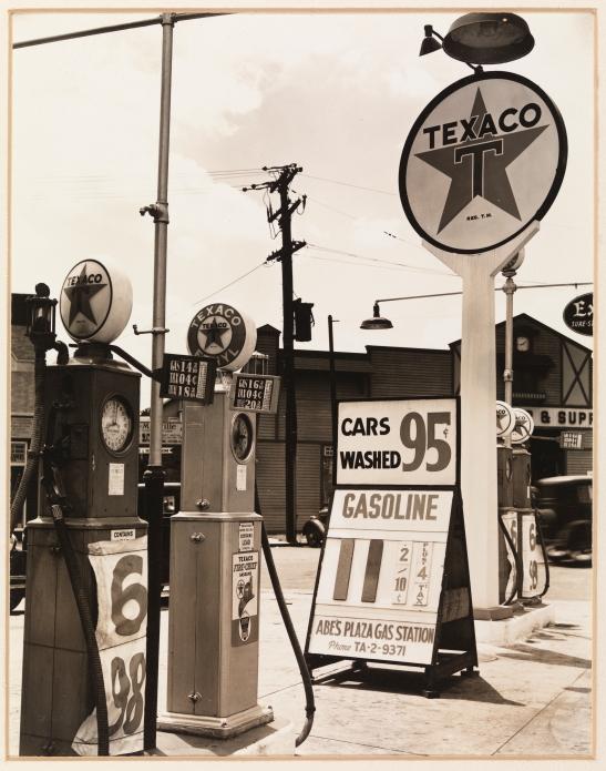 Berenice Abbott (1898-1991). Gasoline Station, 1936. Museum of the City of New York, 89.2.2.30