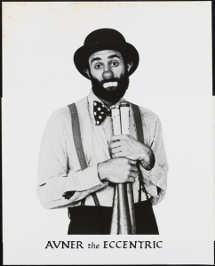Photographer unknown. Avner the Eccentric. 1984. Museum of the City of New York. 95.139.157