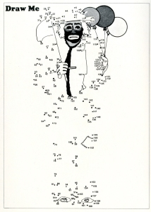 Draw me. Emmett Kelly Jr. Star Spangled Circus program. 1974. Museum of the City of New York Theater archives.