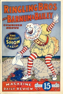 Ringling Bros and Barnum & Bailey Magazine and Daily Review. 1926. Museum of the City of New York Theater archives.