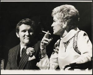 "Friedman-Abeles. Charles Braswell as Larry and Elaine Stritch as Joanne in ""Company"". 1970. Museum of the City of New York. X2013.42.318"