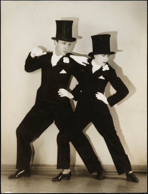 "[Fred and Adele Astaire in ""The Band Wagon"".]"