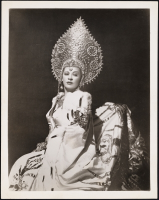 "[Mae West as Catherine II in ""Catherine Was Great"".]"