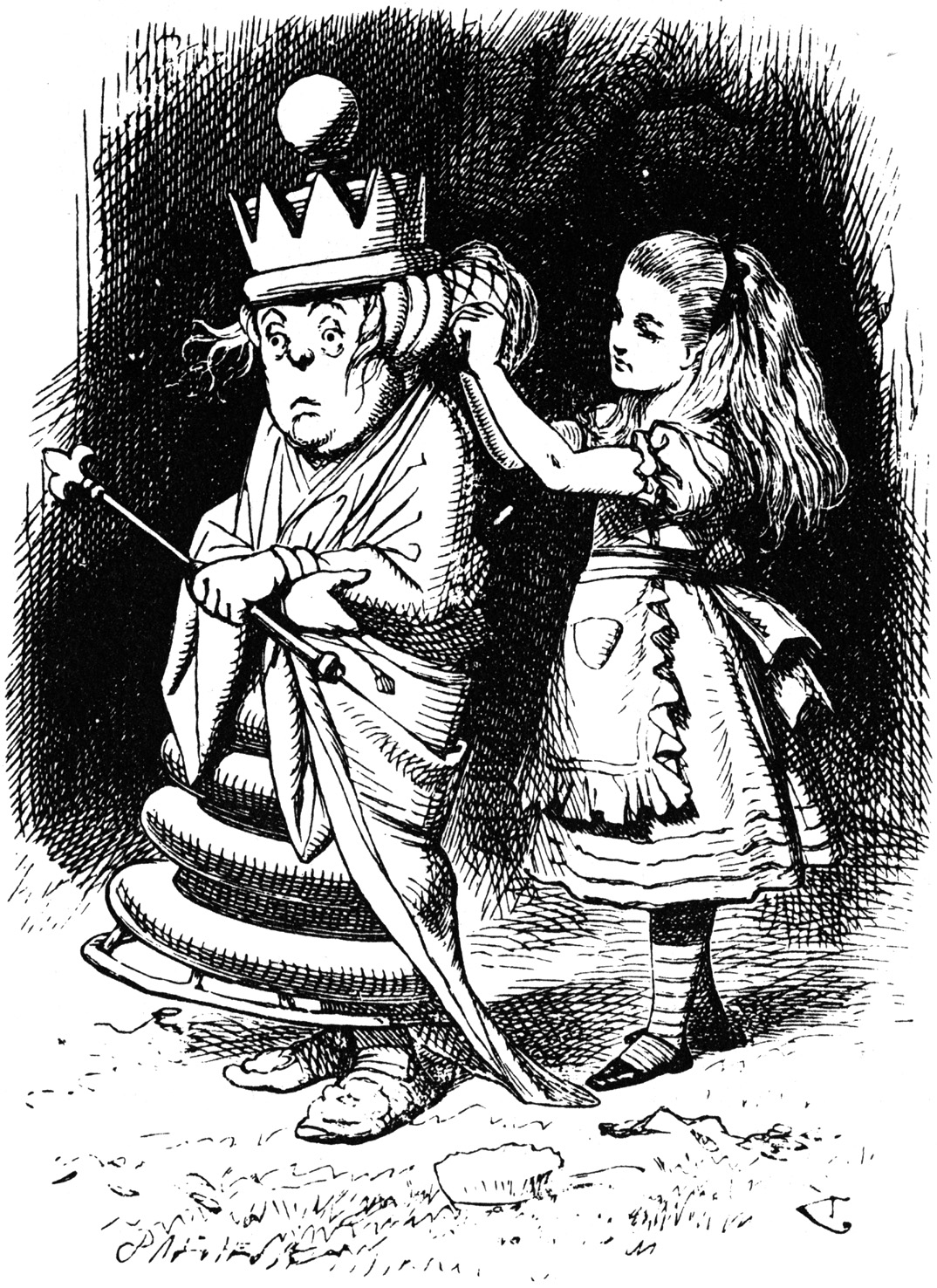 Alice Through The Looking Glass Tenniel Illustrations