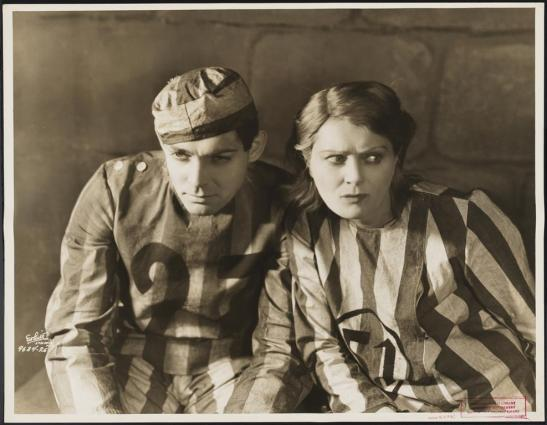 "White Studio (New York, N.Y.). Clark Gable and Beth Merrill in ""Blind Window"". 1929. Museum of the City of New York. 37.399.764."