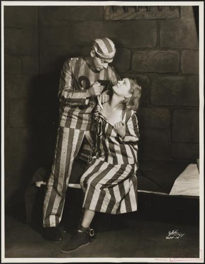 "White Studio (New York, N.Y.). [Clark Gable and Beth Merrill in ""Blind Window"".]. 1929. Museum of the City of New York. 37.399.778"